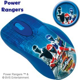 Mouse Óptico Power Rangers 06233