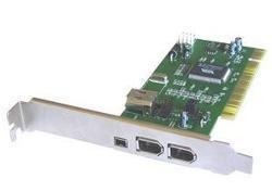 Placa PCI Firewire 3 saídas