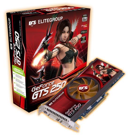 Vga Geforce GTS 250 1GB DDR3 256Bits