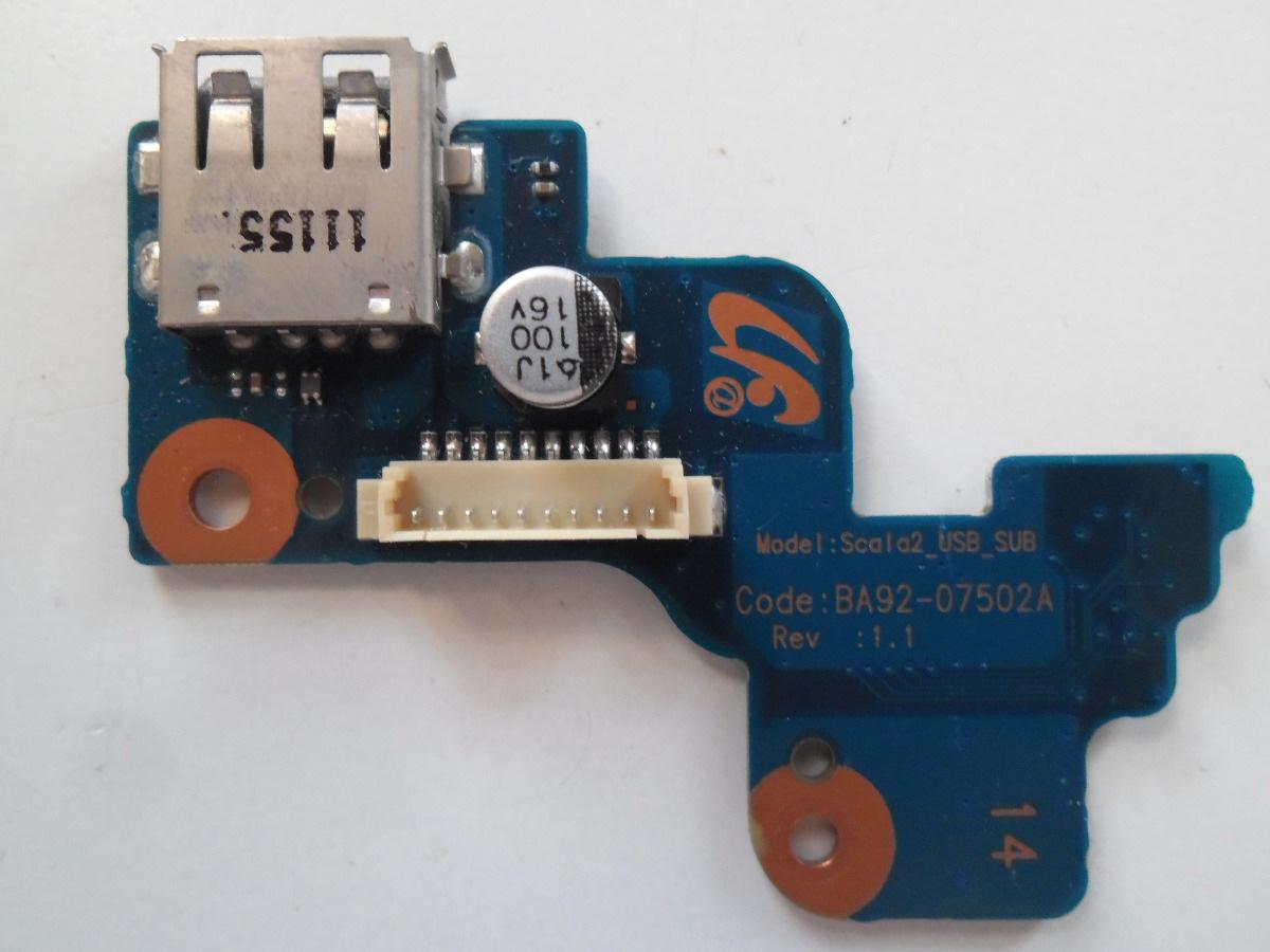 Botão Power + Usb Samsung Rv411 Rv415 Rv419