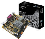 PLACA MÃE PC WARE IPXLP-MB + INTEL ATOM DUAL CORE