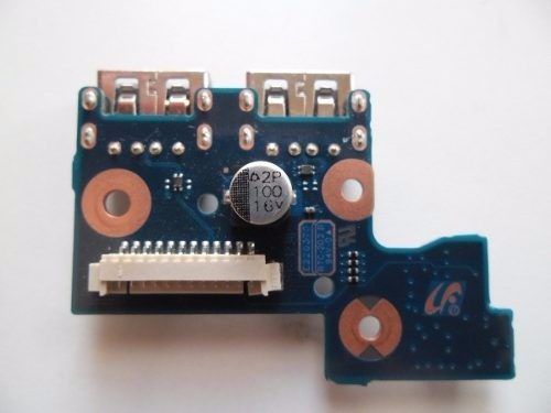 Placa USB Power Button Original Samsung NP300E4C  BA92-10171A