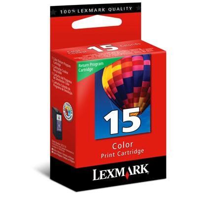 Cartucho Lexmark Nº 15 Colorido