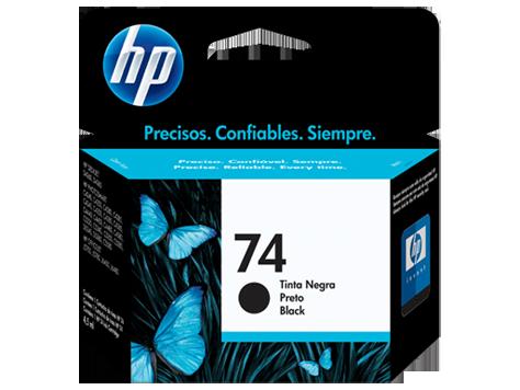 Cartucho HP Nº 74 Preto Original