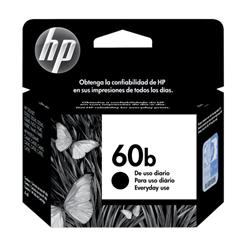 HP 60b (Every Day) Cartucho de Tinta Preta Original - 4 ml. CC636WB