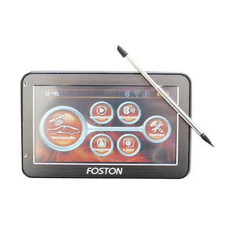 GPS Foston FS-441B Preto Bluetooth