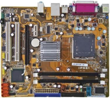 Placa Mãe Intel PC Ware IPM31 OEM 775