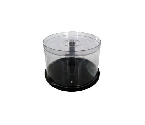 Tubo Pote P/ Guardar Cd's Dvd's Capacidade 50 Unidades