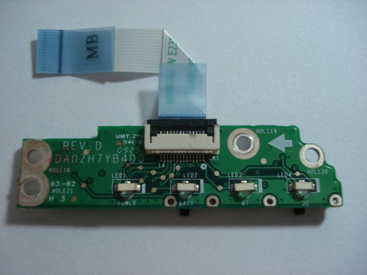 Placa Leds Netbook Acer Aspire 1410 DA0ZH7YB4D0
