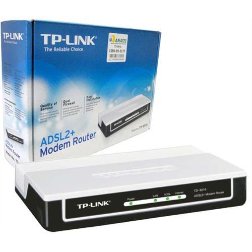Modem ADSL2/2+ até 24Mbps Roteador TP-Link 8816
