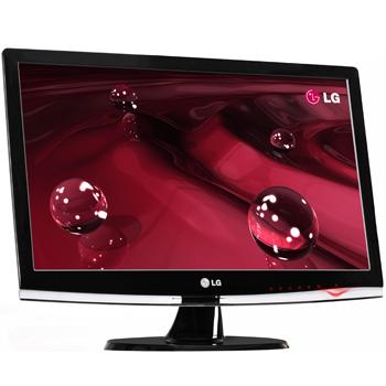 Monitor LCD 20 polegadas Widescreen LG 2053TQ DVI Preto - LG