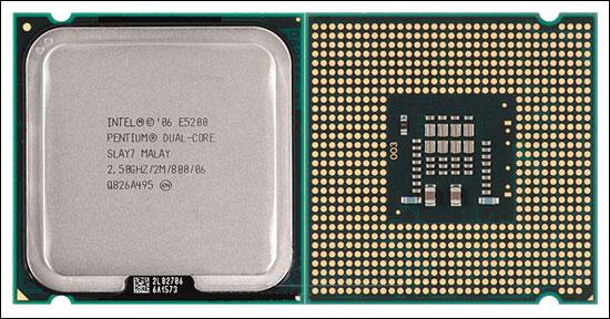 Processador Intel Dual Core E5200 2.5ghz 2M 800 - Slay7 775