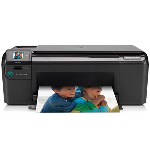 Multifuncional Photosmart C4780 (Impressora + Copiadora + Scanner + Wireless)
