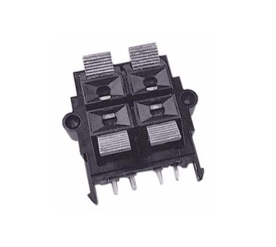 Conector Borne Saída De 2 Falantes Microsystem