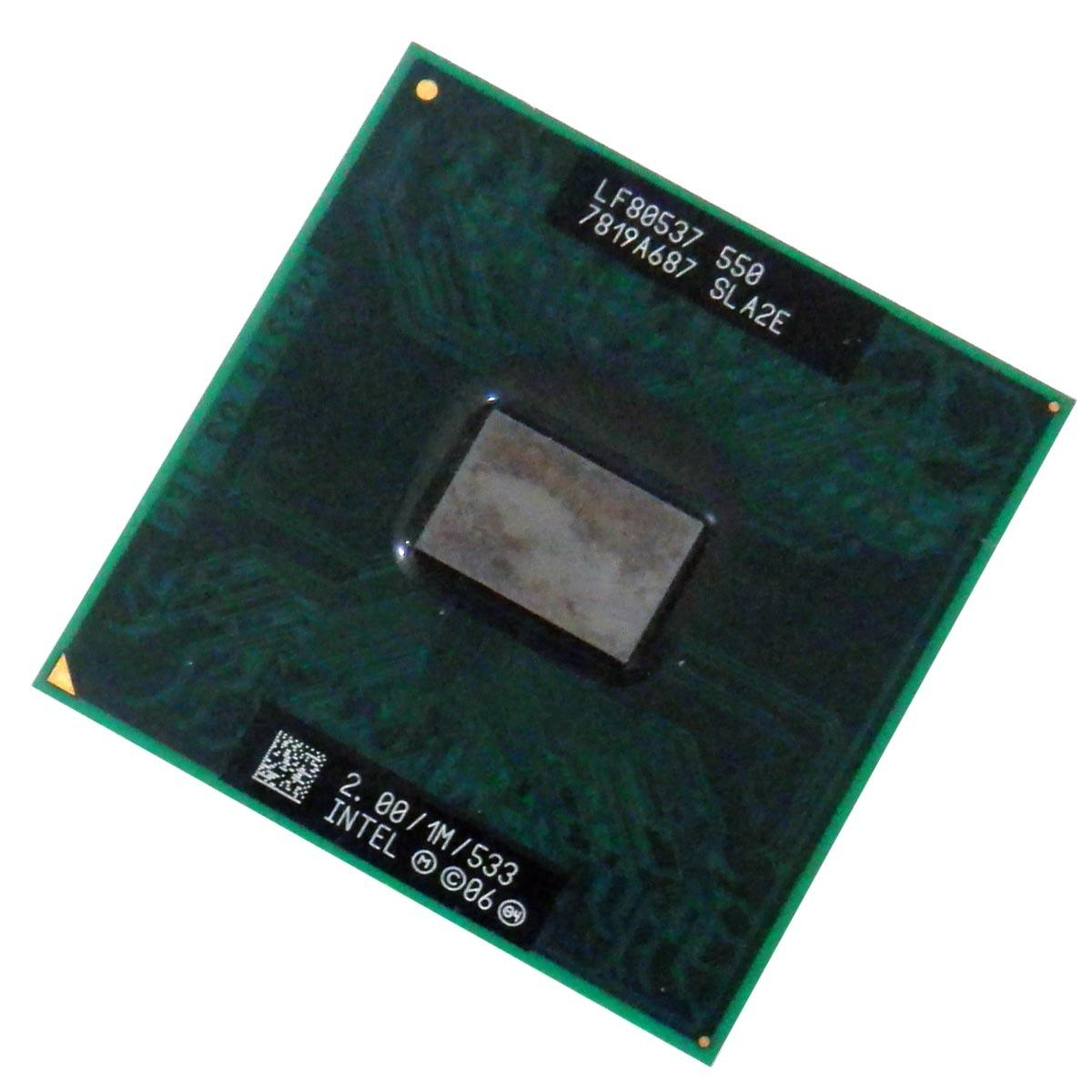Processador Mobile Intel Celeron M550 2.00 GHz, 1M 533 MHz - Sla2e