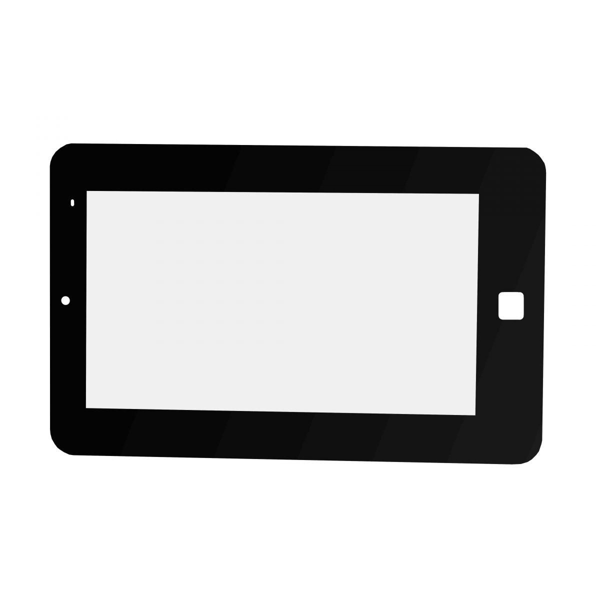Membrana Plastica p/ Touch Tablet 7´ Home Quadrado