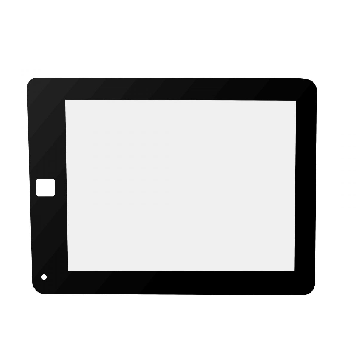 Membrana Plastica p/ Touch Tablet 8´ Home Quadrado