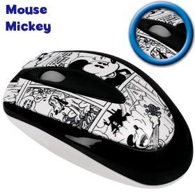 Mouse Óptico USB Mickey Clone 6242