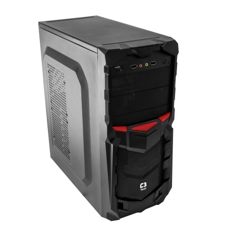 Gabinete C3 Tech GAME MT-G50 BK S/ Fonte