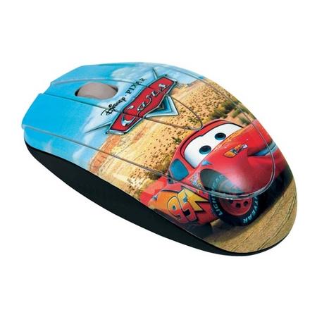 Mouse Clone Óptico Disney Carros 3 Botões - 800 CPI 06245