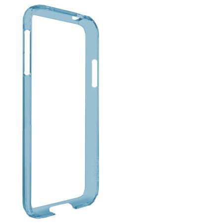 Bumper Case Galaxy S4 Azul Transparente