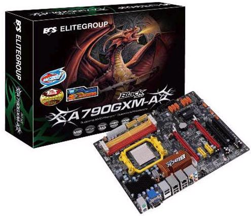 Placa Mãe Ecs A790GXM-AD3 Black Edition Am3 Ddr3
