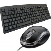Kit teclado ps2 + mouse ps2 padrão standart