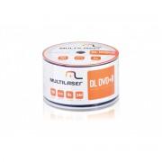 DVD+R Dual Layer 8.5GB Multilaser Umedisc C/ 50 Unidades DV047