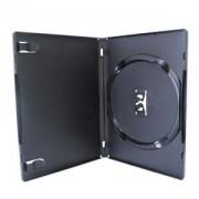 Estojo Capa Box Preto P/ Dvd/Cd Novodisc 100 Unidades