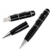Pen drive Caneta 4GB C/ Laser 3 em 1