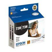 Cartucho Preto Epson 73H T072126 (2 cartuchos de 11ml) p/ Impressora C110