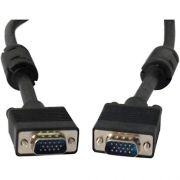 Cabo VGA  p/ Monitor C/ Filtro 15M/15M 3,0 Mts