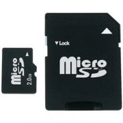 Cartão Micro SD / SD 2GB - HP C/ Adaptador