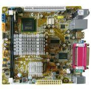 PLACA MÃE PC WARE IPXLP-MB + INTEL ATOM DUAL CORE