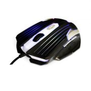 Mouse Gamer C3 Tech USB MG-11 BSI Preto e Prata