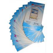 Kit 19 Películas Protetora de Tela Plastico LG Optimus L7 II P715 P716