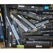 Lote 20 Baterias usadas P/ Notebook Diversas marcas com defeito