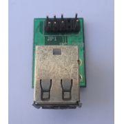 Placa Conector USB P/ Gabinete 06