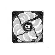 Cooler Fan Led Branco C3 Tech F9-L100WH Storm 12cm