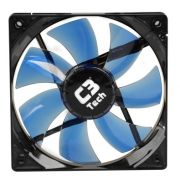 Cooler Fan Led Azul C3 Tech F7-L100BL Storm 12cm