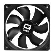 Cooler Fan Preto C3 Tech F7-L100BK Storm 12cm