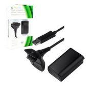 Bateria e Carregador P/ Xbox 360 4800mAh BN-007-2 Preto