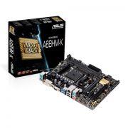 Placa Mãe Asus AMD FM2 MATX A68HM-K Motherboard DDR3 DVI VGA USB 3.0