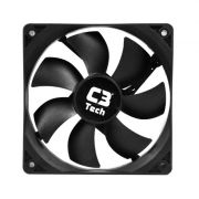 Cooler Fan Storm Series F7 C3 Tech P/ Gabinete 8cm  Conector Fonte