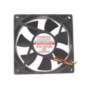 Cooler Fan Evercool 9cm Ball Bearing 12V 0.15a 92X92X25 92mm EC9225M12CA