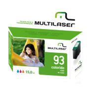 Cartucho Compativel 93xl Colorido Multilaser - CO093