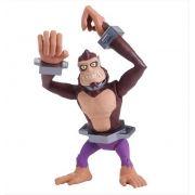 Boneco Figura de Ação Colecionável Tartarugas Ninja TMNT 12CM Monkey Brains BR118