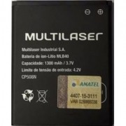 Bateria Multilaser Ms40 - Mlb40 Original  Pr056