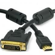 Cabo DVI Macho x HDMI Macho 5 Metros  X-Cell - XC-DVI-MxHD-M-5M
