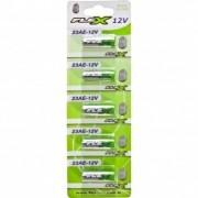 Cartela c/ 5 baterias 12V 23A FX-23A-12V